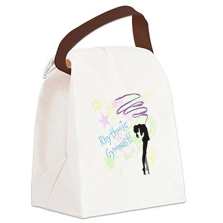Rhythmic Gymnast (Pastel) Canvas Lunch Bag