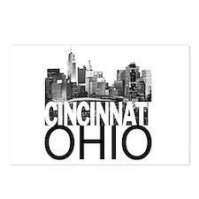 Cincinnati Skyline Postcards (Package of 8)