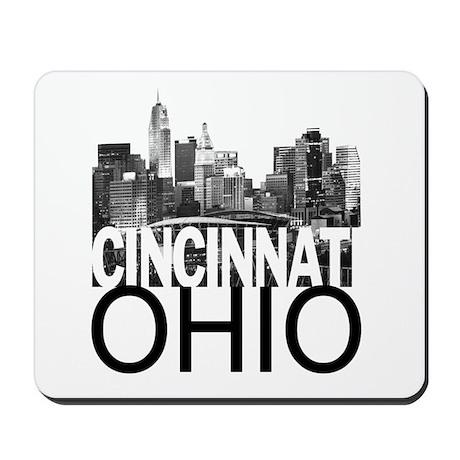 Cincinnati Skyline Mousepad