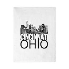 Cincinnati Skyline Twin Duvet