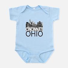 Cincinnati Skyline Infant Bodysuit