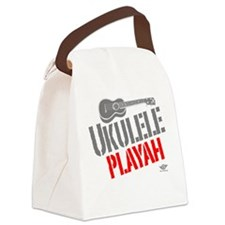 Ukulele Playah Canvas Lunch Bag