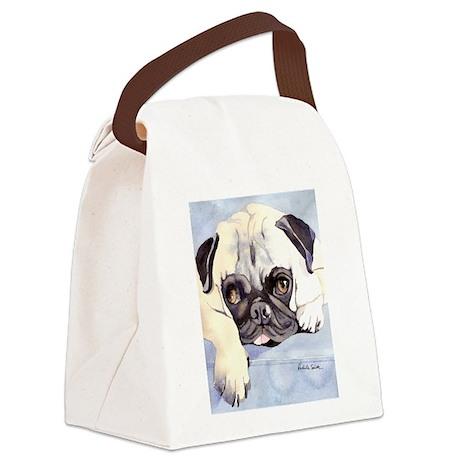 Pug Stuff! Canvas Lunch Bag