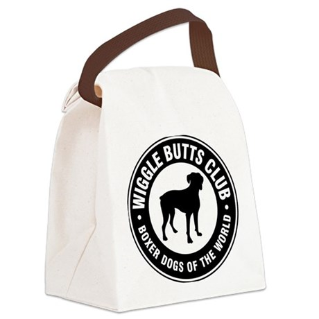 Wiggle Butts Club Canvas Lunch Bag