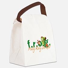 F.R.O.G. Canvas Lunch Bag