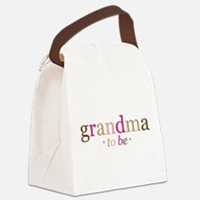 Grandma to be (fun) Canvas Lunch Bag