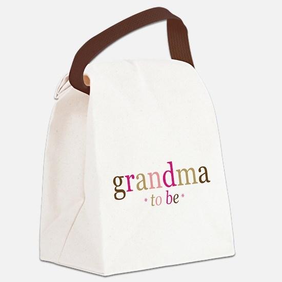 Grandma to be (fun) Canvas Lunch Bag