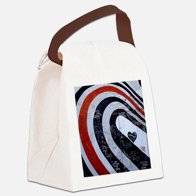 Elliott Smith Wall Canvas Lunch Bag