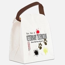Yes I'm A Veterinary Technician Canvas Lunch Bag