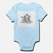 Disc Golf Outlaw Style Infant Bodysuit