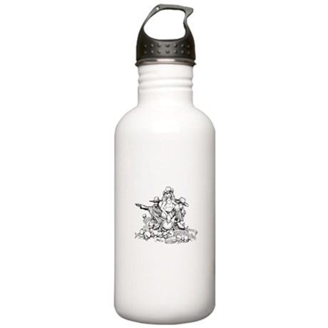 Disc Golf Outlaw Style Stainless Water Bottle 1.0L
