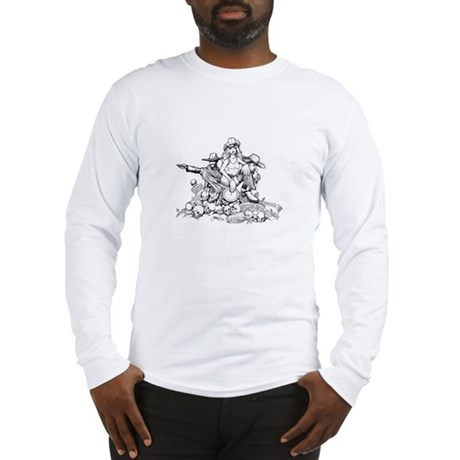 Disc Golf Outlaw Style Long Sleeve T-Shirt