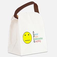 ASpie Acronym Canvas Lunch Bag