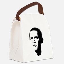 obama_portrait.png Canvas Lunch Bag