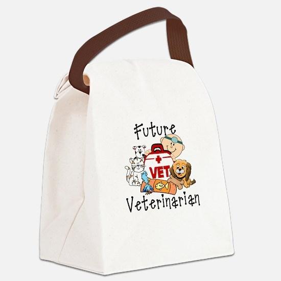 Future Veterinarian Canvas Lunch Bag