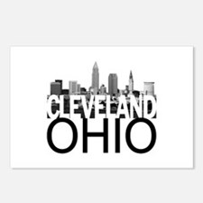 Cleveland Skyline Postcards (Package of 8)