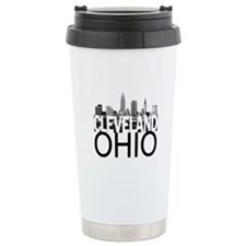 Cleveland Skyline Travel Mug