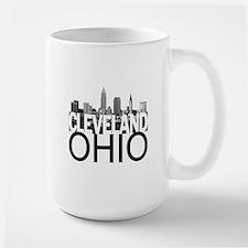 Cleveland Skyline Large Mug