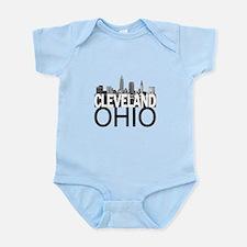 Cleveland Skyline Infant Bodysuit