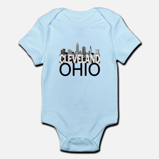 Cleveland Skyline Infant Bodysuit