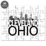 City of cleveland skyline Puzzles