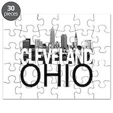 Cleveland Skyline Puzzle