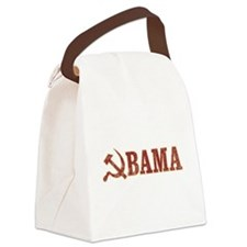 Vintage Socialist Obama [st] Canvas Lunch Bag