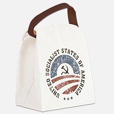 USSA Vintage Logo Canvas Lunch Bag