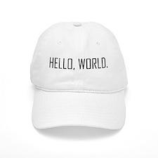 Hello, World Baseball Cap