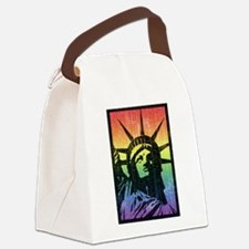 Rainbow Liberty 'Vintage' Canvas Lunch Bag