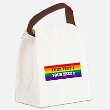 Cute Glbt Canvas Lunch Bag