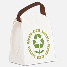 Reduce Reuse Recycle Canvas Lunch Bag