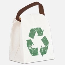 recycle_vintage.png Canvas Lunch Bag