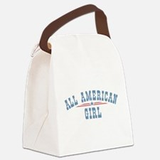 All American Girl Canvas Lunch Bag