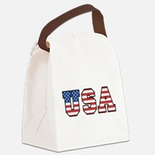 usa2.png Canvas Lunch Bag
