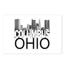 Columbus Skyline Postcards (Package of 8)