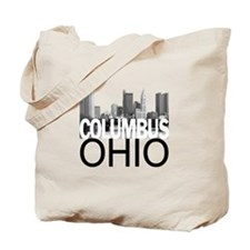 Columbus Skyline Tote Bag