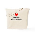 I HEART Someone with Amblyopia Tote Bag