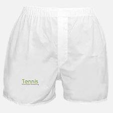 Tennis Slogan Boxer Shorts