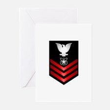 Navy Master at Arms First Class Greeting Cards (Pk