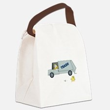 Oh No Canvas Lunch Bag