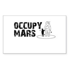 Occupy Mars Decal