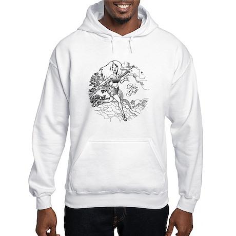 Disc Golf Girl Style Hooded Sweatshirt