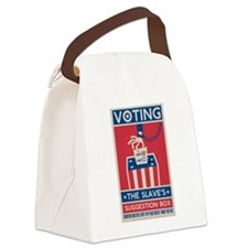 Voting Canvas Lunch Bag