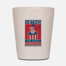 Voting Shot Glass
