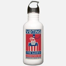 Voting Water Bottle