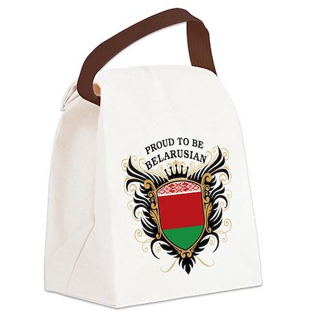 proud_belarusian.png Canvas Lunch Bag