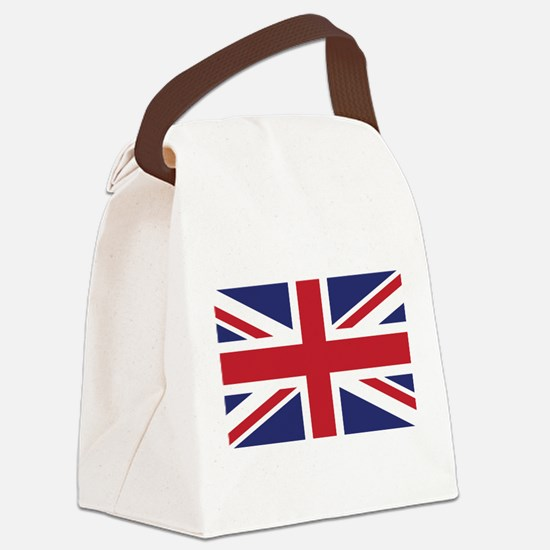 Flag of the United Kingdom Canvas Lunch Bag