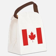 flag_canada.png Canvas Lunch Bag