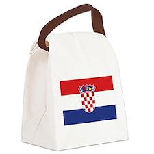 flag_croatia.png Canvas Lunch Bag